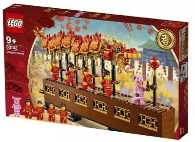 "Details about ""US SELLER"" LEGO 80102 CHINESE NEW YEAR DRAGON DANCE ASIA EXCLUSIVE – IN STOCK"