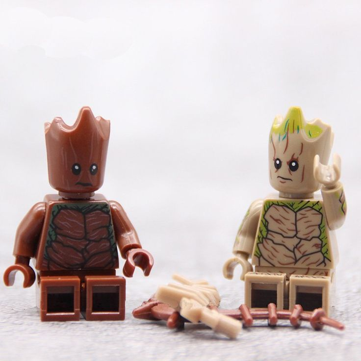 Avengers Groot Minifigures Lego Compatible Marvel Super Heroes Toy