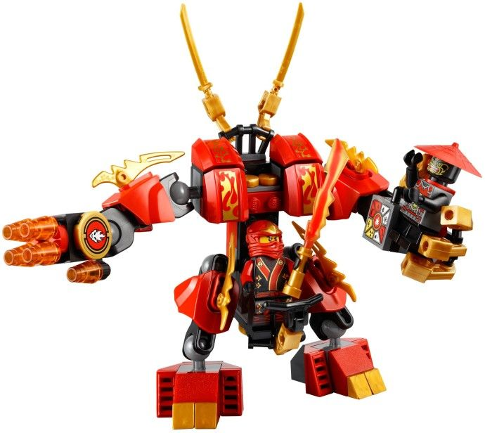 Details about LEGO 70500 Ninjago Kai's Fire Mech New in slightly crushed Box NIB