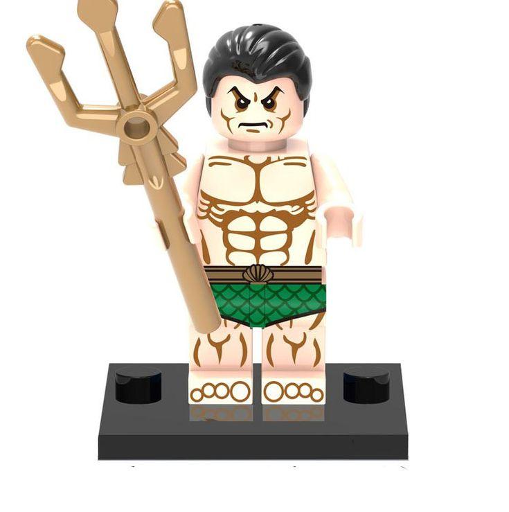 Namor McKenzie Minifigures Spider-Man movie Building block Toy Compatible Lego Minifigures