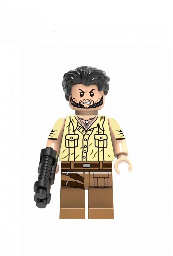 Ulysses Klaw Super Heroes Minifigures Compatible Lego Black Panther Movie Toy