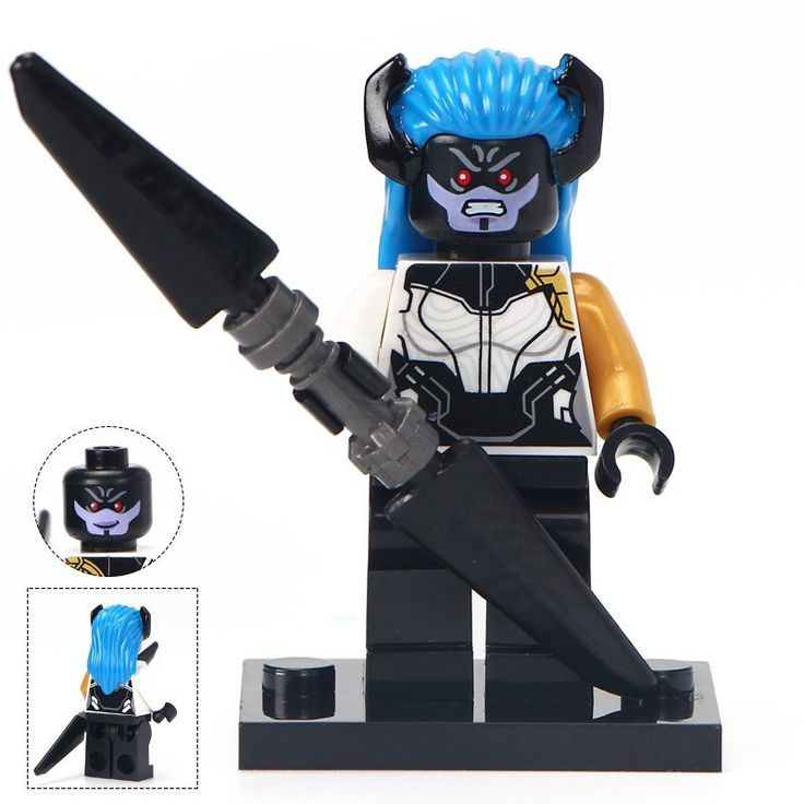 Minifigure Proxima Midnight Marvel Super Heroes Compatible Lego Building Block Toys