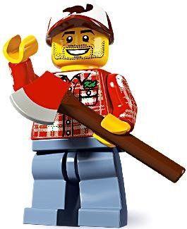 Lego Minifigures Series 5 – Lumber Jack LEGO,http://www.amazon.com/dp/B005MEKIS8…