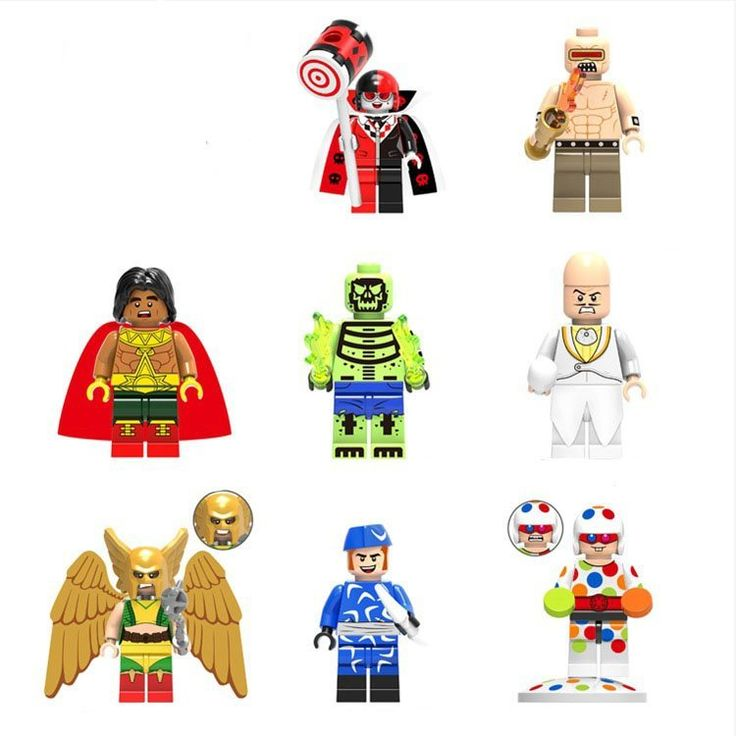 DC Super Heroes Minifigures Justice League building block Toy Compatible Lego Minifigures