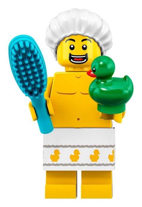Shower Guy LEGO Collectable Minifgure