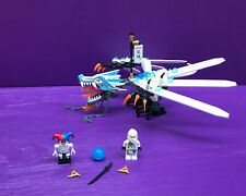 Lego Ninjago Ice Dragon Attack 2260 100% complete with minifigs & instructionsLE…