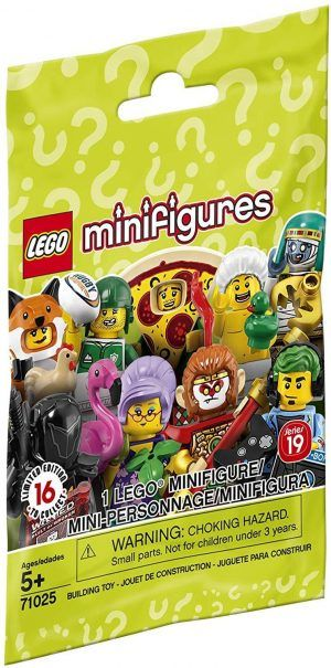 Lego Minifigures Series 19 $2.99 –>(Up to 5.0% Cash Back)