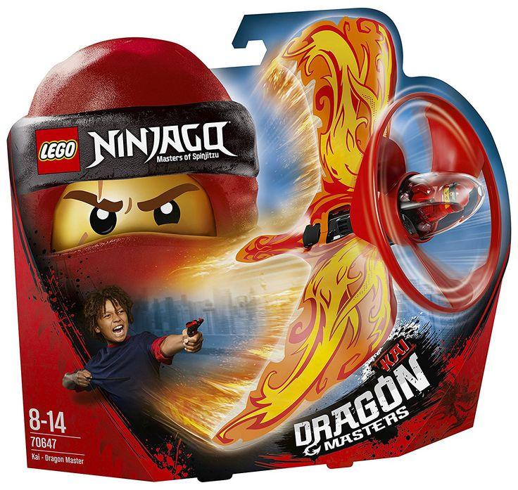 LEGO Ninjago 70647 Kai – Le maître du dragon