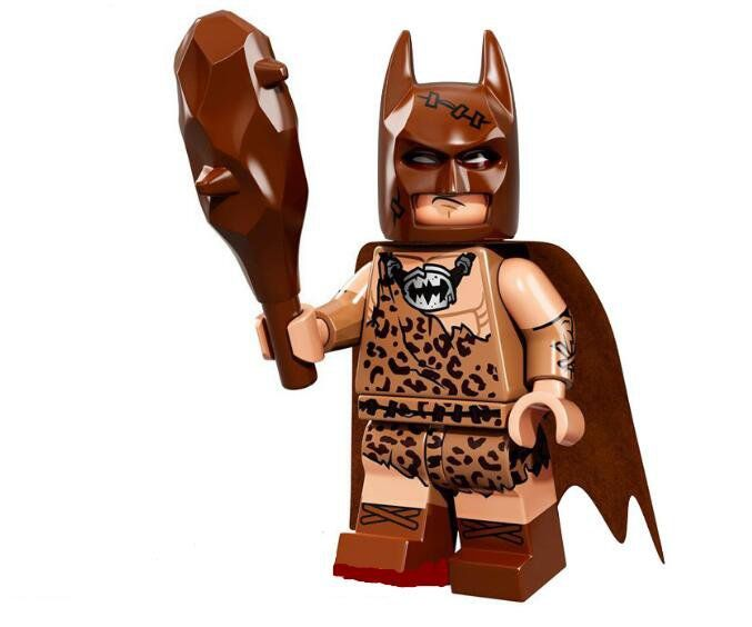 Clan of the Cave Batman Lego Minifigures Compatible Toy