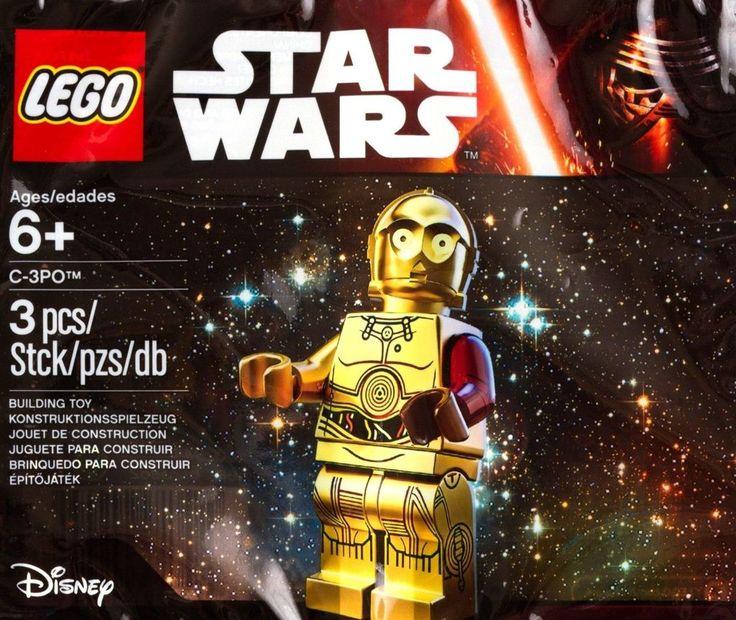 Lego C3PO Red Arm Minifigure 5002948 Star Wars