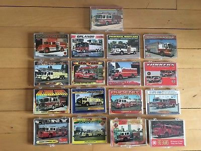 (eBay)(Sponsored) Fire apparatus trading cards Lot of 17