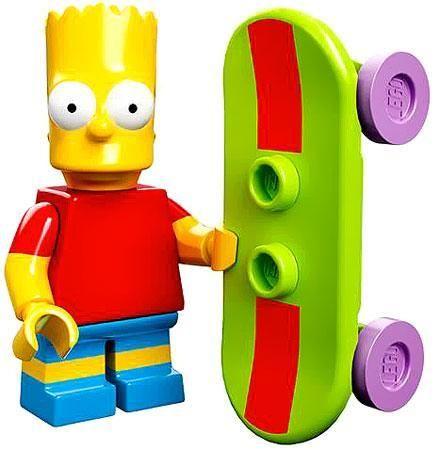 LEGO The Simpsons Simpsons Series 1 Bart Simpson Minifigure [Loose]