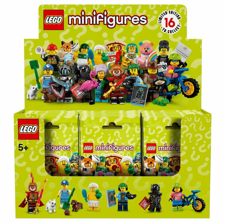 Details about LEGO Series 19 Minifigures Collectible Sealed Box Case of 60 Minifig Packs 71025