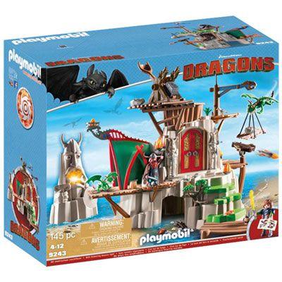 Playmobil Dragons: Berk – 145 Pieces (9243)
