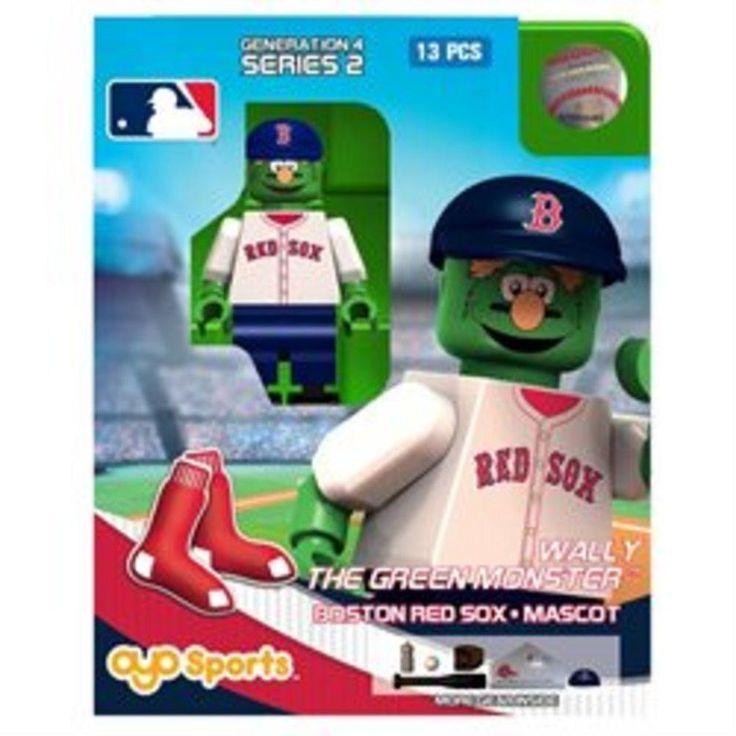 OYO MLB Generation 4 Limited Edition Mascot Minifigure Boston Red Sox – Wally th…