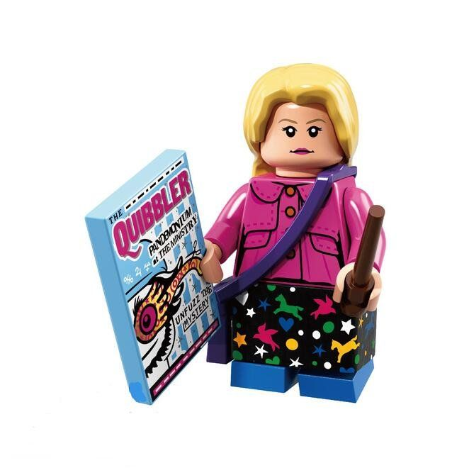 Luna Lovegood Lego Minifigures Compatible Harry Potter Series 71022