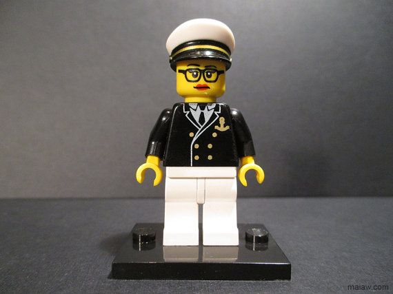 Grace Hopper custom LEGO minifigure / action figure