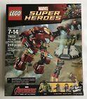 LEGO: MARVEL SUPER HEROES (76031) The Hulk Buster Smash -New- Factory Sealed Box