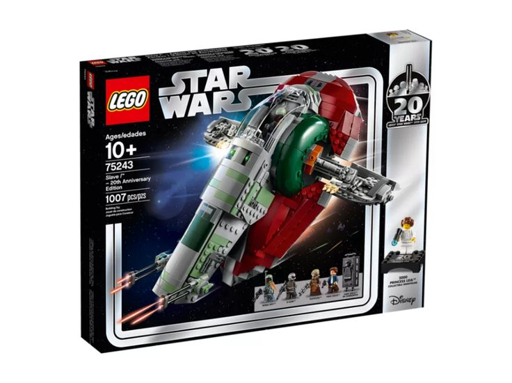 Slave l™ – 20th Anniversary Edition 75243 | Star Wars™ | Buy online at the Official LEGO® Shop US