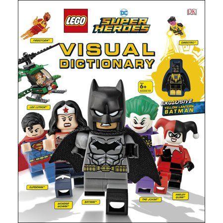 Lego DC Super Heroes Visual Dictionary (Hardcover) – Walmart.com
