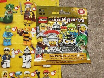 Ad – Lego Minifigures Series 10 BUMBLEBEE 2013 Bag Set 71001 Factory Sealed