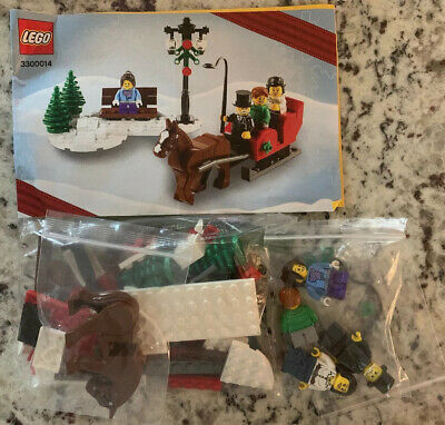 Lego 3300014 Christmas Horse Sleigh Limited Edition 2012 Complete Instructions  | eBay