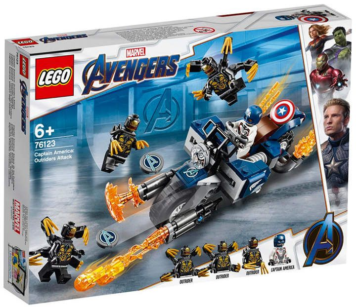 LEGO®  Captain America: Outriders Attack 76123 & Reviews – Home – Macy's