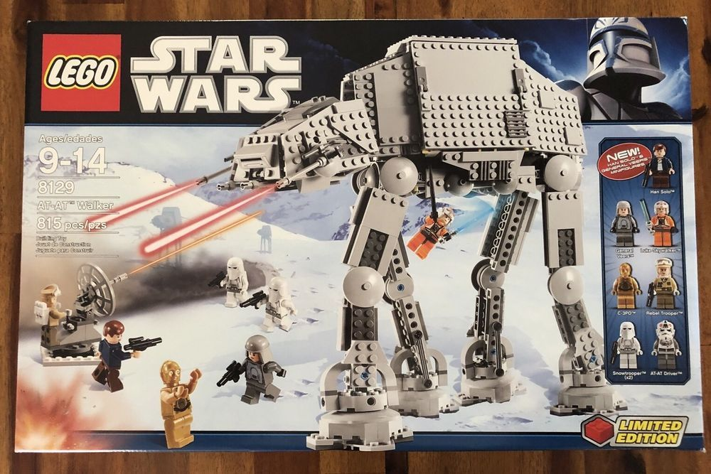 Lego Star Wars AT-AT Walker 8129 Limited Edition – Factory Sealed