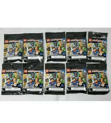 Ad – LEGO 71026 DC Super Heroes Lot Of 10 Blind Bag Minifigures SEALED NEW IN HA…