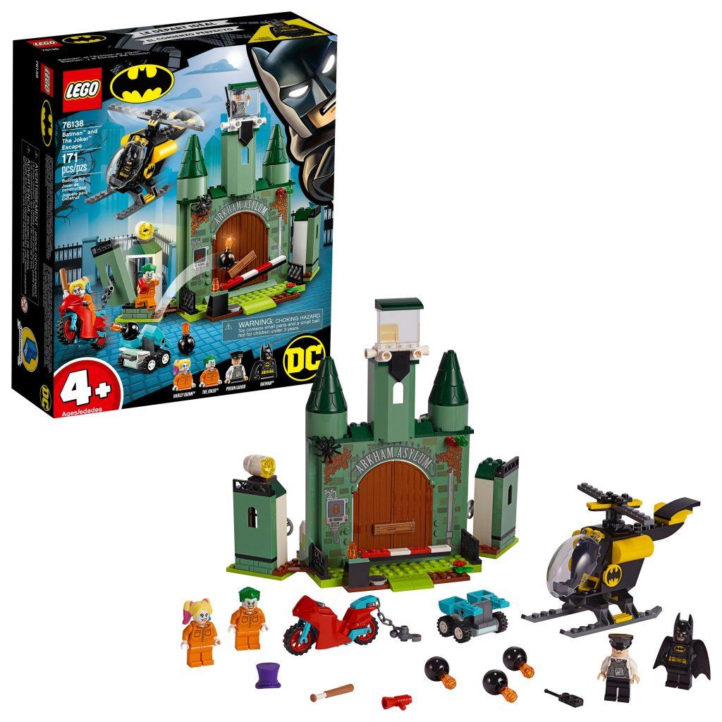 LEGO Batman and The Joker Escape 76138 Superhero Action Toy – Walmart.com