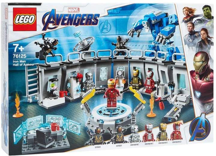 Lego Marvel Avengers Iron Man Hall Of Armor | Harrods.com