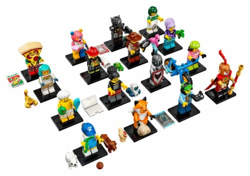 LEGO Series 19 Minifigures Collectible Complete Set of 16 SEALED 71025  | eBay