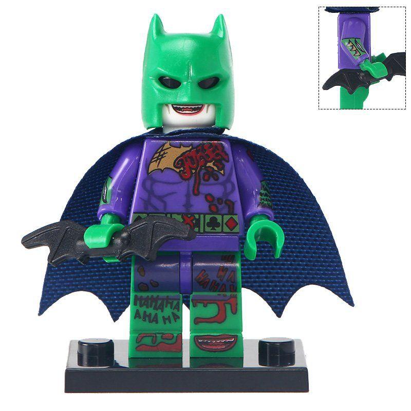 Minifigure Batman Joker Style DC Comics Super Heroes Compatible Lego Building Blocks Toys