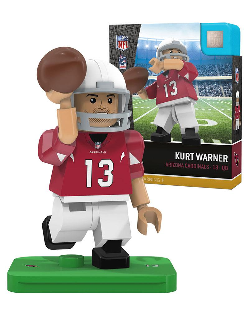 Arizona Cardinals KURT WARNER Retired Legend Limited Edition OYO Minifigure