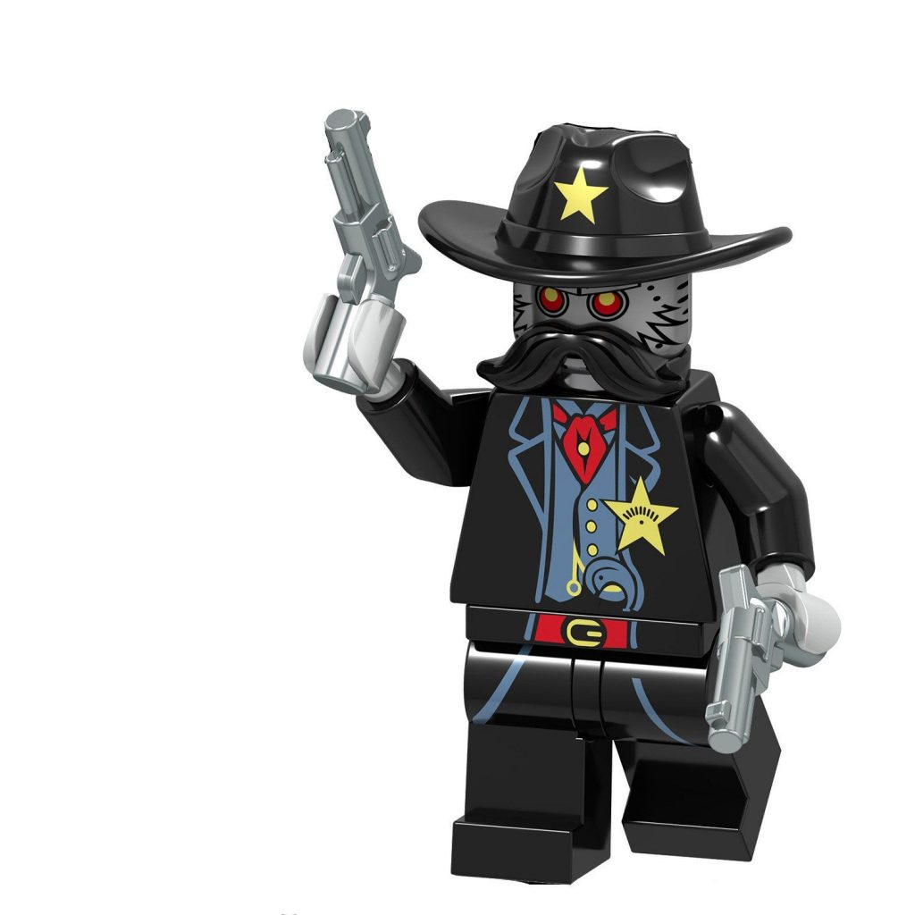 Sheriff Not A Robot LEGO The Movie Minifigure