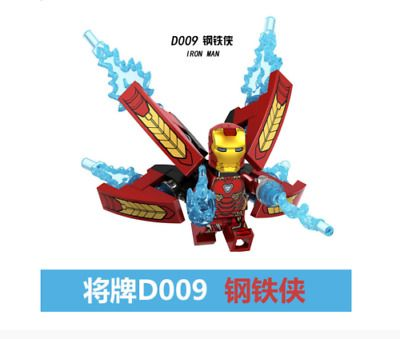 Ad – Custom SET Super Heroes Infinity War Scuba Iron Man Tony D Lego Fit Minifig…