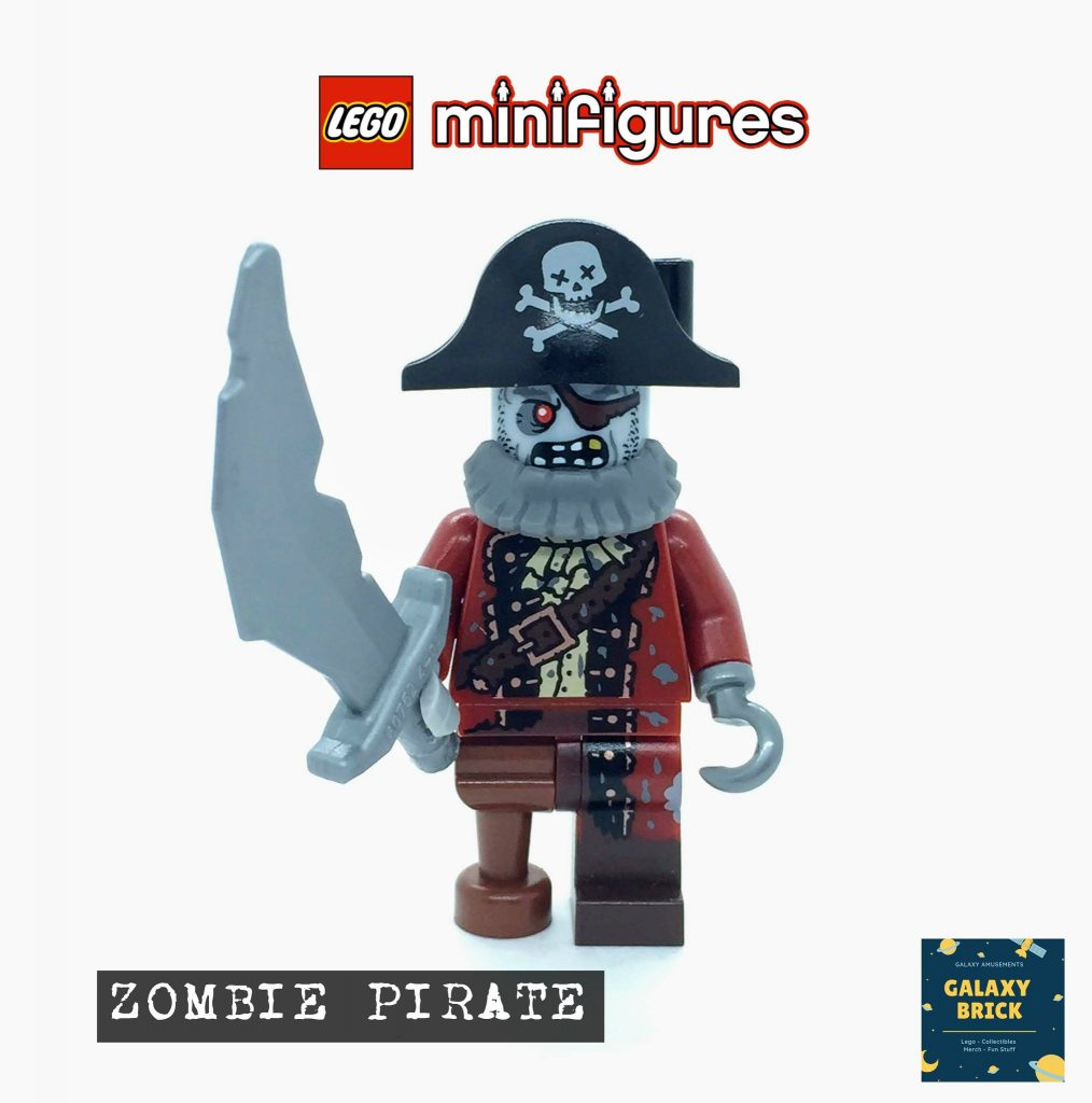 LEGO Zombie Pirate Minifigure