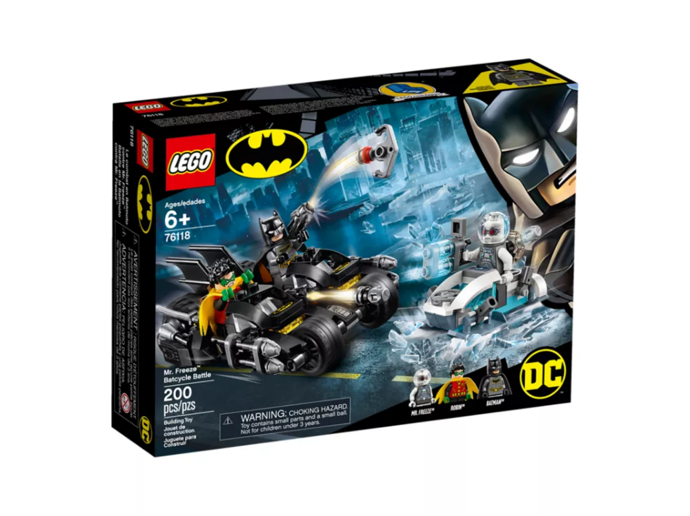 Mr. Freeze™ Batcycle™ Battle 76118 | Batman | Buy online at the Official LEGO® Shop US