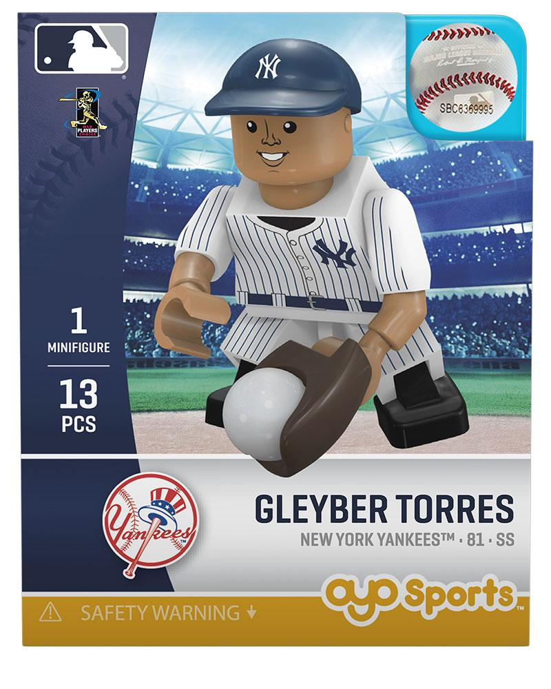 New York Yankees GLEYBER TORRES Limited Edition OYO Minifigure