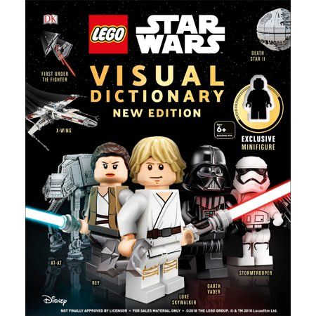 LEGO Star Wars Visual Dictionary, New Edition : With exclusive Finn minifigure – Walmart.com