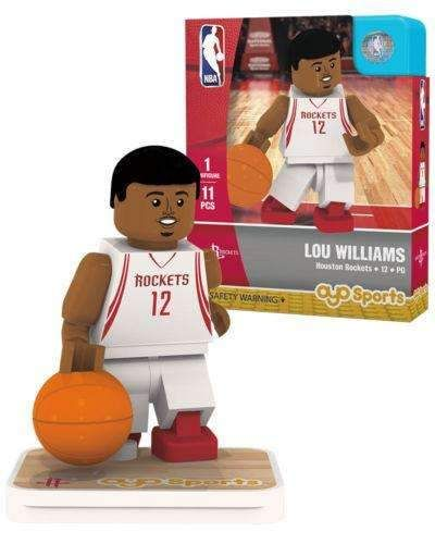 Lou Williams Houston Rockets NBA Minifigure by Oyo Sports NIB NIP – Marvelous Marvin Murphy's