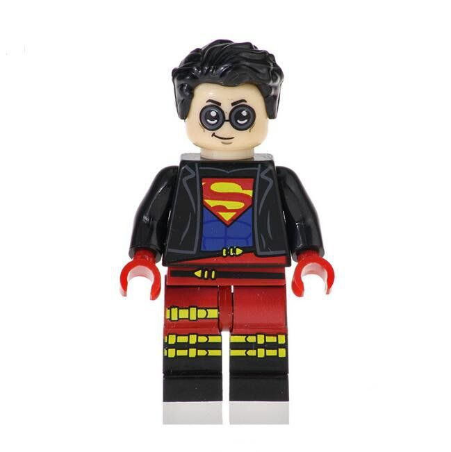 Superboy Lego Minifigures Compatible Super Heroes series