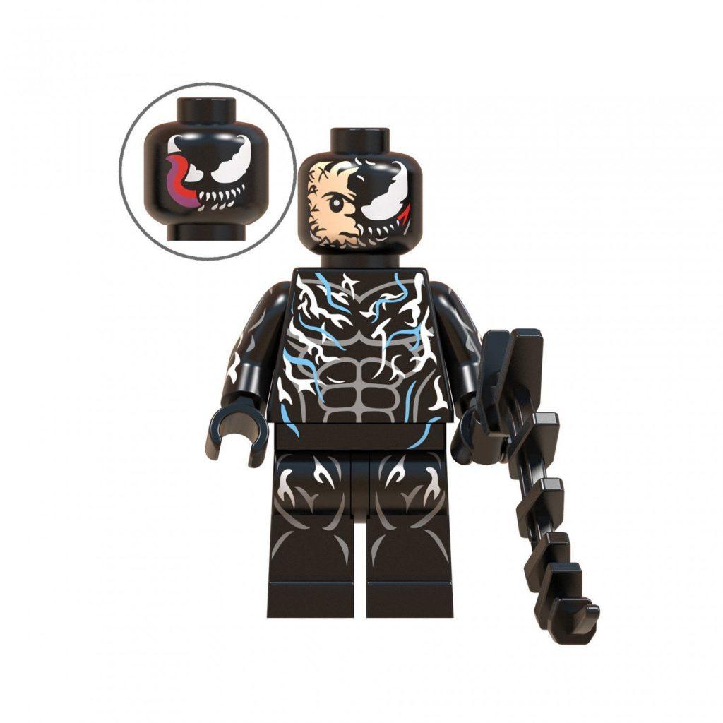 Movie set Venom Minifigures Compatible Lego Marvel Superhero Minifigures