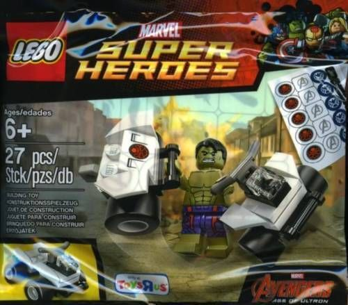 LEGO 5003084 Marvel Avengers The Hulk Polybag – Brand New, Toys R Us Exclusive  for sale online