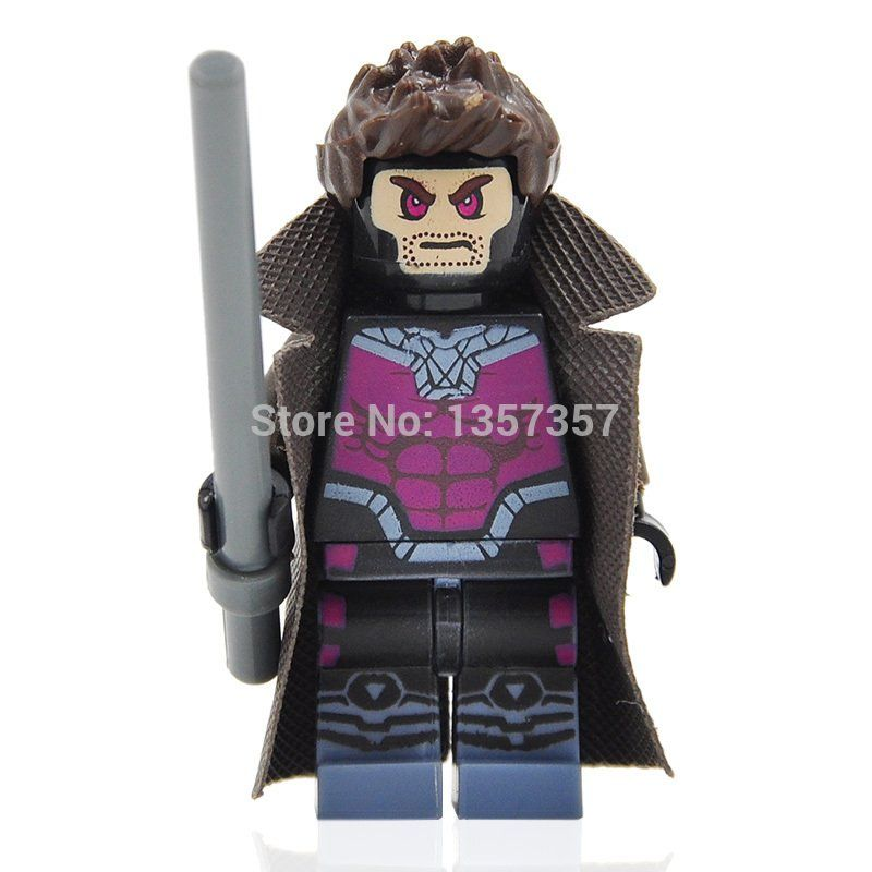 Gambit Lego Super Heroes Minifigures Compatible Toys