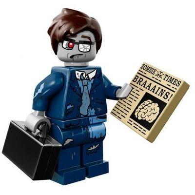 LEGO Minifigures – Zombie Businessman   Halloween Minifigures   Halloween LEGO