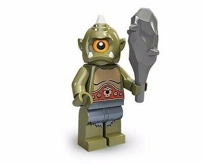 Ad – Takara Tomy LEGO Minifigures Series 9 Cyclops green headpiece 1 eye white t…
