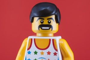 Limited-Edition Freddie Mercury Lego Character to Raise Funds in HIV Fight