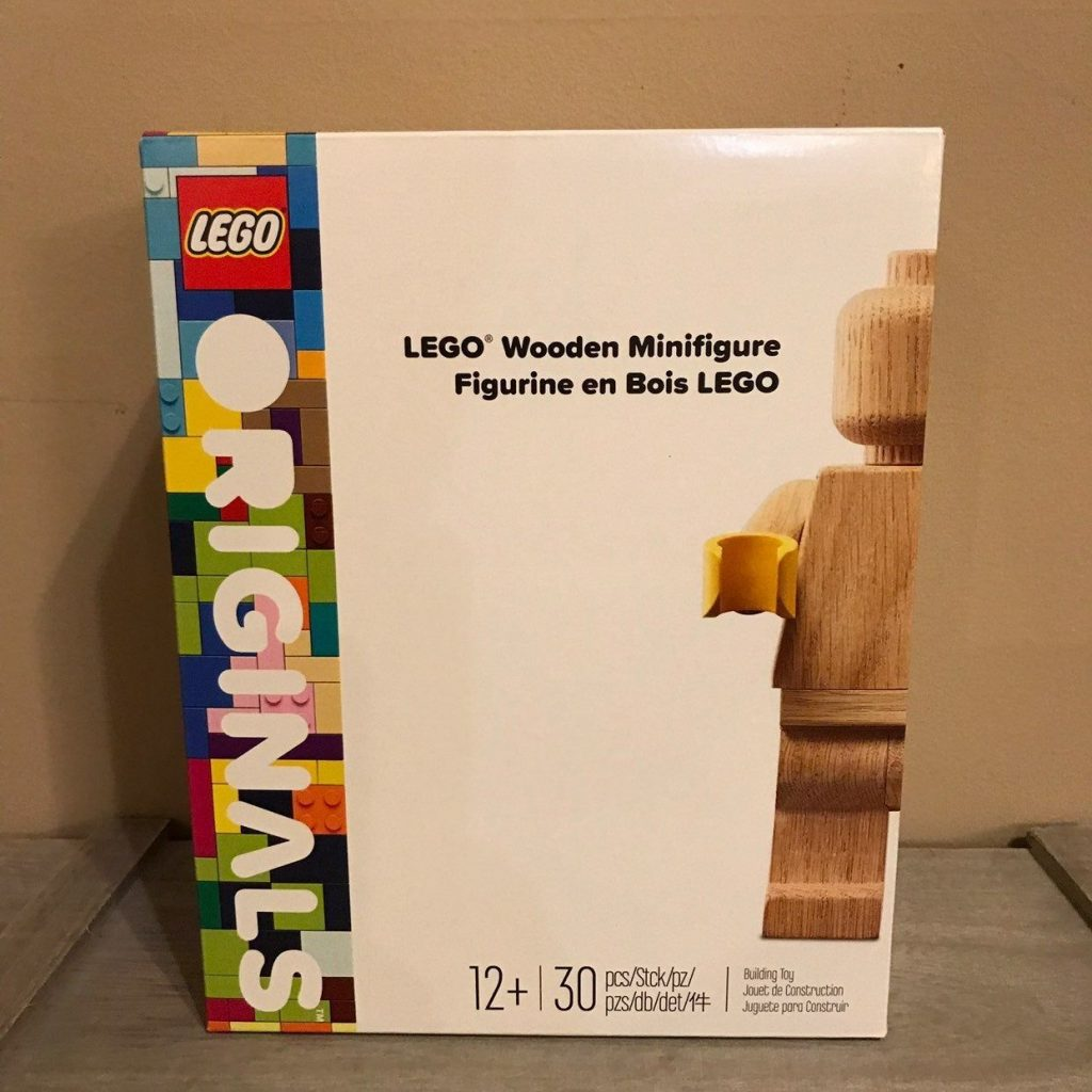 Lego Wooden Minifigure   Limited Edition  Brand New