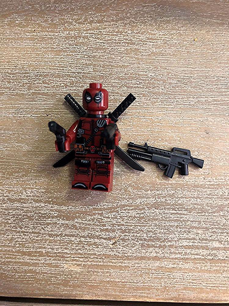 LEGO MARVEL SUPER HERO X-MEN DEADPOOL GENUINE MINIFIGURE  HOT! FREE SHIPPING